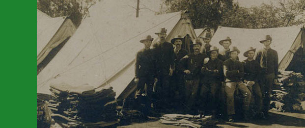 World War I Army Camp at Dubbo Showground, 1915